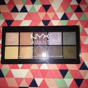 "Nyx avant pop eyeshadow palette in ""nouveau chic"""
